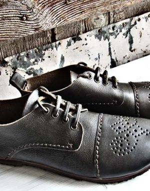 Scarpa stringata black