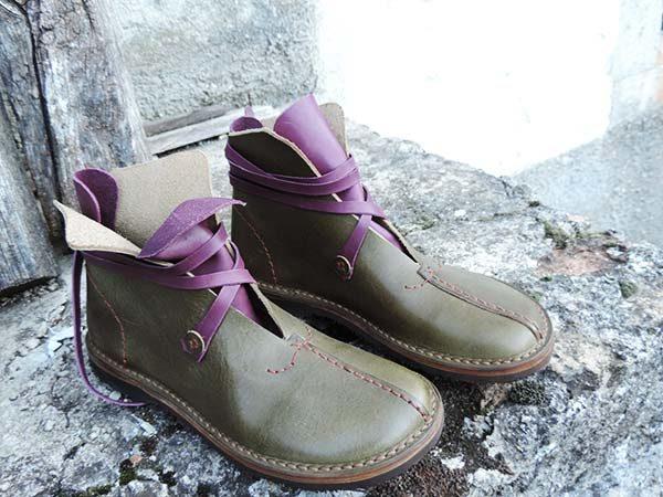 Scarpe artigianali stivaletto elfo